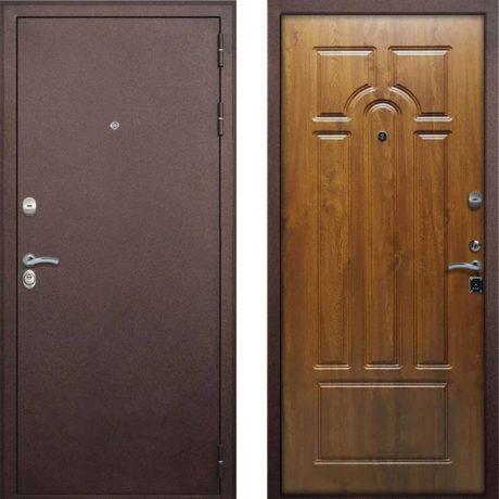 Фото дверь ДМ 7 4-х контурная Дуб золотой