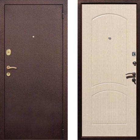 Фото дверь ДМ 1А Беленый Дуб