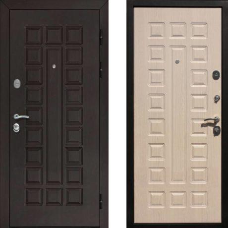 Фото дверь ДМ Гладиатор CISA Беленый дуб