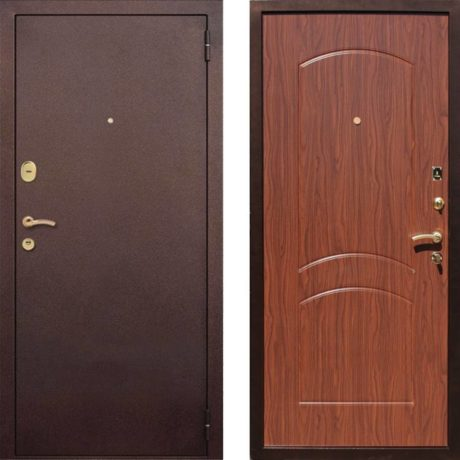 Фото дверь ДМ 1А Орех