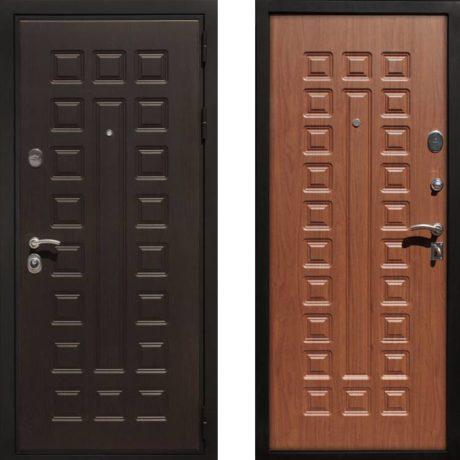 Фото дверь ДМ Премиум 3 Орех