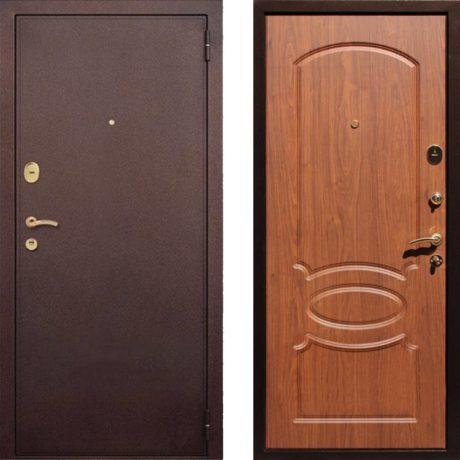 Фото дверь ДМ 2 Орех