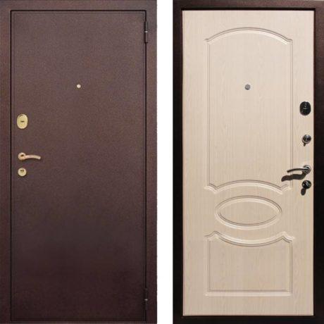 Фото дверь ДМ 2 Беленый дуб