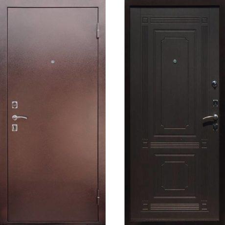 Фото дверь ДМ 1 Венге