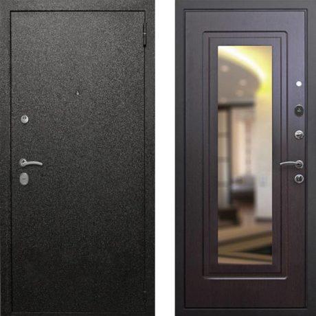 Фото дверь ДМ Верона 6 Зеркало Венге