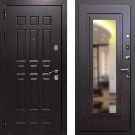 Фото дверь ДМ 8 Зеркало Венге