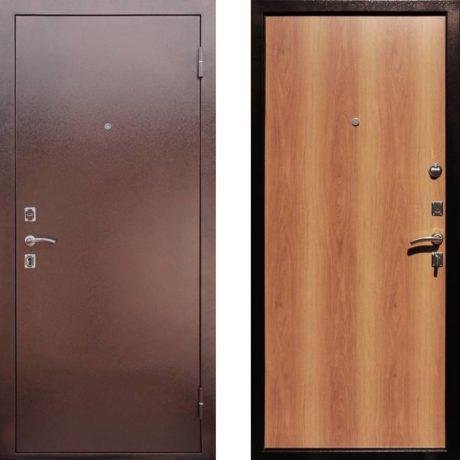 Фото дверь ДМ Эконом Миланский Орех
