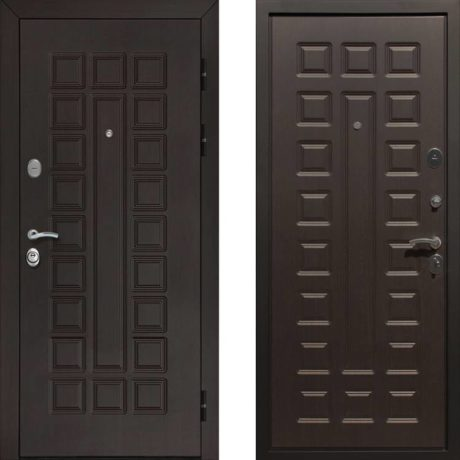 Фото дверь ДМ Гладиатор CISA Венге