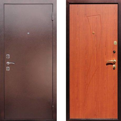 Фото дверь ДМ 1 Парус Клен красный