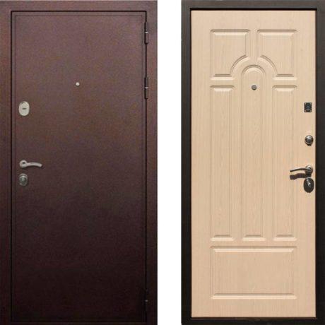 Фото дверь ДМ 5А Беленый дуб