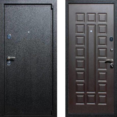 Фото дверь ДМ 3 Венге