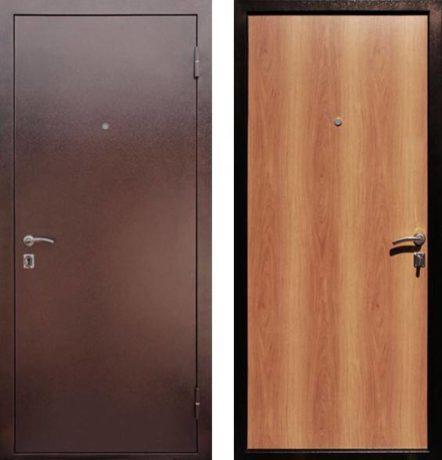 Фото дверь ДМ Супер Эконом Миланский орех