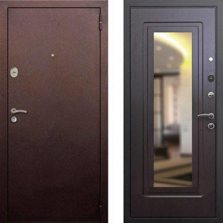 Фото дверь ДМ 1А Зеркало Венге