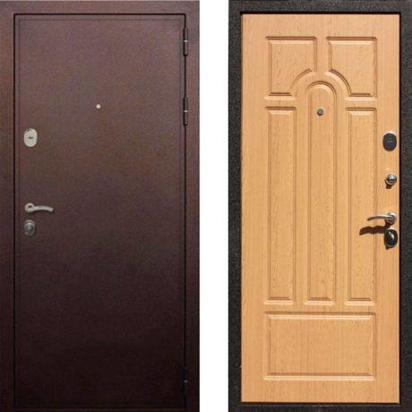 Фото дверь ДМ 5А Дуб светлый