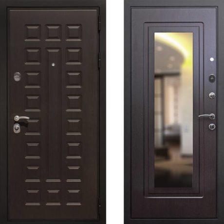 Фото дверь ДМ Премиум 3 Зеркало Венге