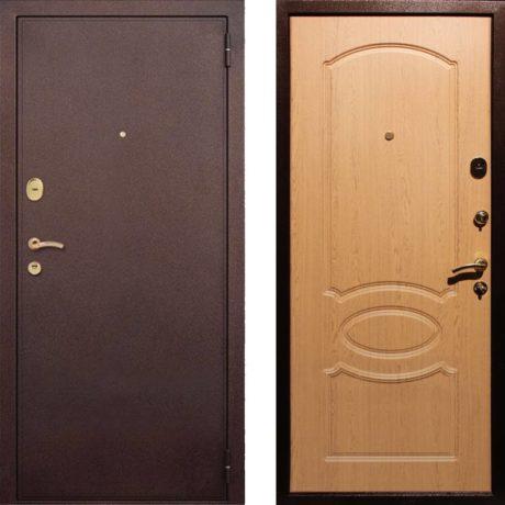 Фото дверь ДМ 2 Дуб светлый