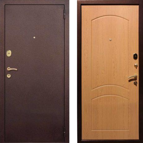Фото дверь ДМ 1А Дуб светлый