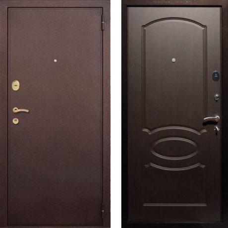 Фото дверь ДМ 2 Венге