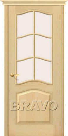 Фото дверь М7 остекленное Без отделки