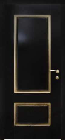 Фото дверь Марсель с фрезой