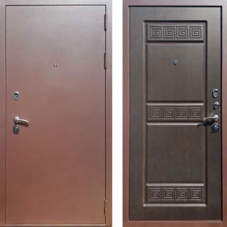 Фото дверь ДМ Троя 3К Венге