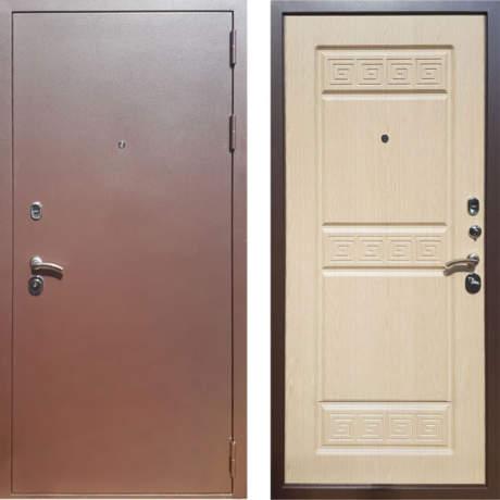 Фото дверь ДМ Троя 3К Беленый дуб