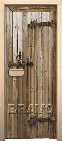 """Фото дверь Дерево """"Glassjet"""""""