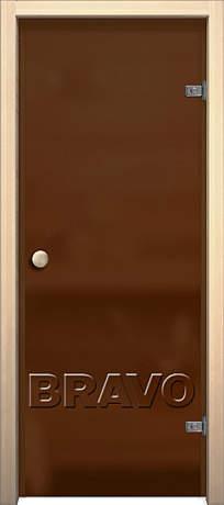 Фото дверь Кноб Е Бронза Сатинато