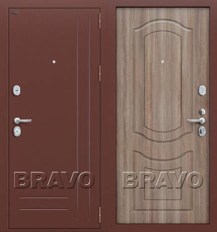 Фото дверь Р2-200 П-1 (Темный Орех)