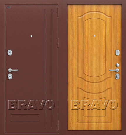 Фото дверь Р2-200 П-2 (Светлый Орех)