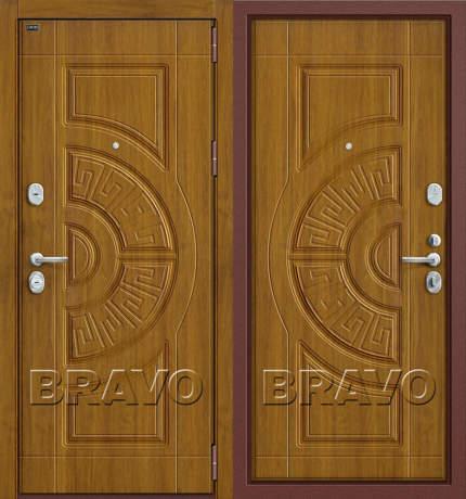 Фото дверь Р3-302 П-4 (Золотой Дуб)