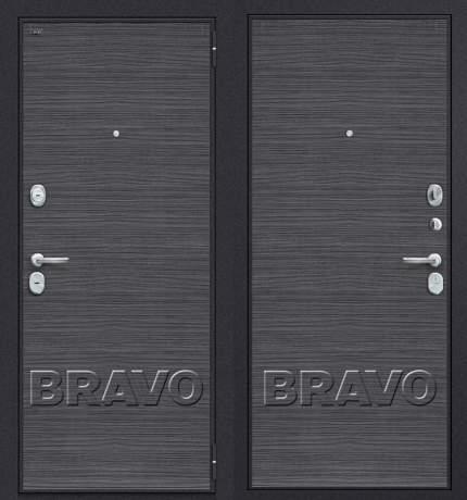 Фото дверь Т3-300 Black Wood