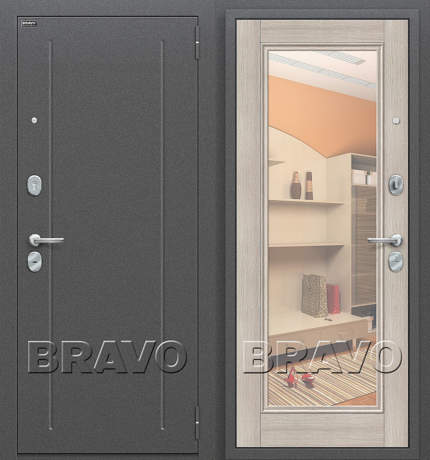 Фото дверь Флэш Cappuccino Veralinga/Reflex