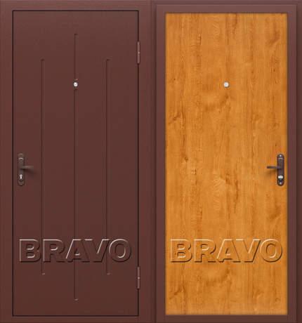 Фото дверь Стройгост 5-1 Л-17 (Золотистый Дуб)
