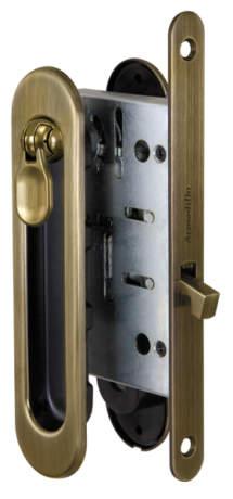 Фото дверь Набор Armadillo (Армадилло) для раздвижных дверей SH011-BK