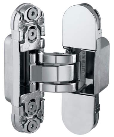 Фото дверь E30200.03.03 AGB (АГБ) (латунь) петля ECLIPSE 2.0 (4 накладки в комплекте)