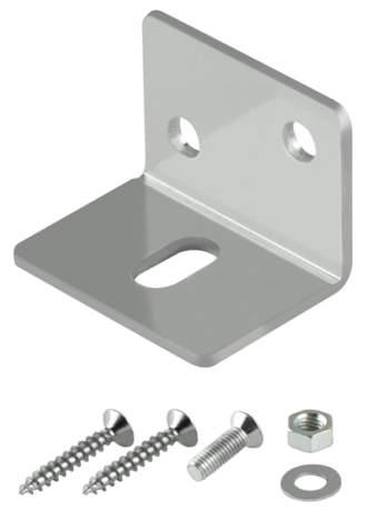 Фото дверь Монтажный Armadillo (Армадилло) уголок для верхней направляющей Comfort mounting bracket