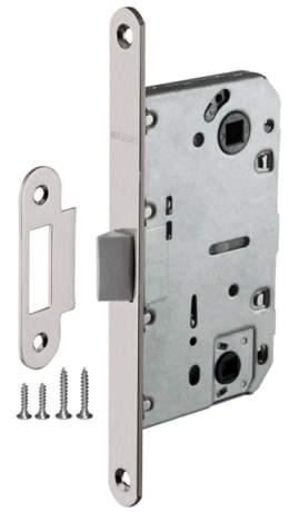 Фото дверь Защелка Fuaro (Фуаро) врезная PLASTIC P96WC-50
