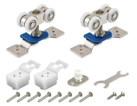 Фото дверь Комплект Armadillo (Армадилло) роликов для раздвижных дверей DIY Comfort 60/4 kit (877)