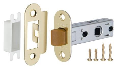 Фото дверь Защелка Fuaro (Фуаро) врезная PLASTIC P22-45-25