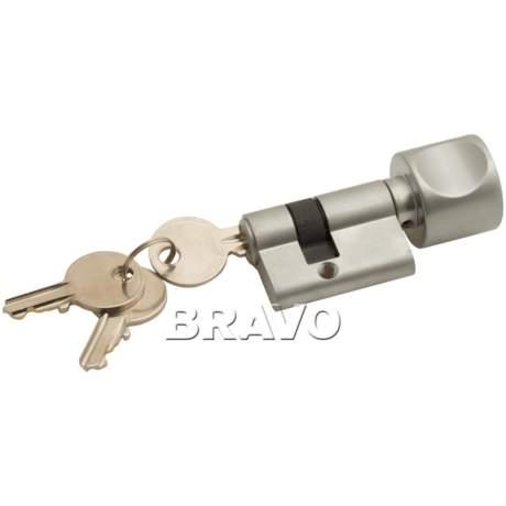Фото дверь Ключ-фиксатор Bravo СТ BF AL Алюминий