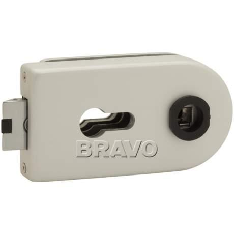 Фото дверь Замок Bravo СТ MP-600-CL AL Алюминий