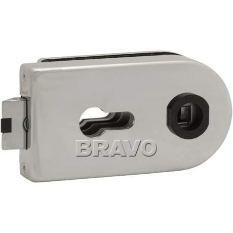 Фото дверь Замок Bravo СТ MP-600-CL C Хром