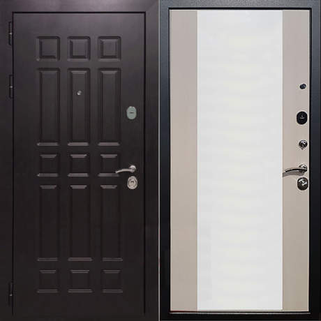 Фото дверь ДМ 8 СБ-16 Лиственница беж