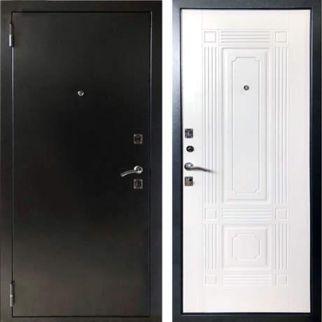Фото дверь ДМ 1 ФЛ-2 белый ясень
