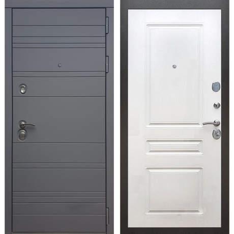 Фото дверь ДМ 14 ФЛ-243 Белый софт