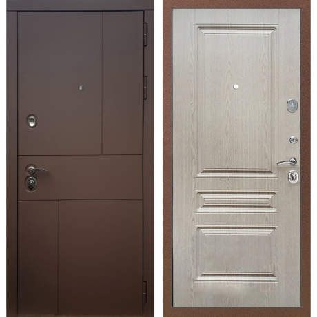 Фото дверь ДМ 16 ФЛ-243 Сандал белый