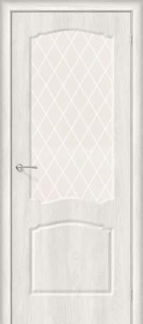Фото дверь Альфа-2 White Сrystal