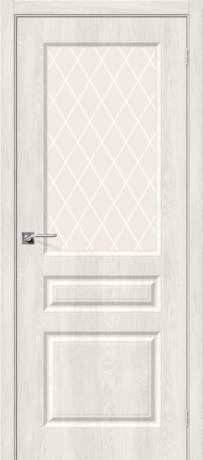 Фото дверь Скинни-15 White Сrystal
