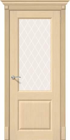 Фото дверь Статус-13 White Сrystal